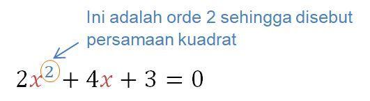 Materi Persamaan Kuadrat - Rumus, Akar, & Contoh Soal 2