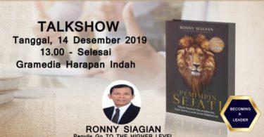 Talkshow Pemimpin Sejati oleh Ronny Siagian 2