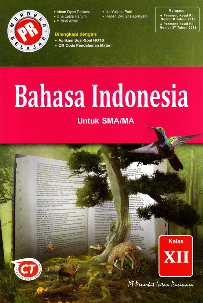 Sma/Ma Kl.12 Bahasa Indonesia Wajib Rev.2020 Kur 2013