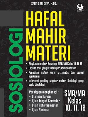 Hafal Mahir Materi Sosiologi SMA/MA KELAS 11, 12, 13
