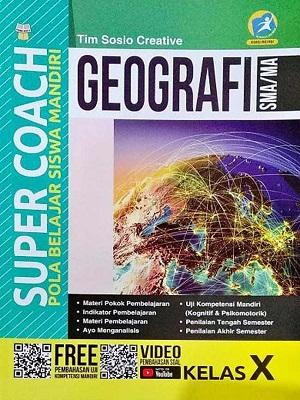 SMA/MA Kelas X Super Coach Geografi Kurikulum 2013 Revisi