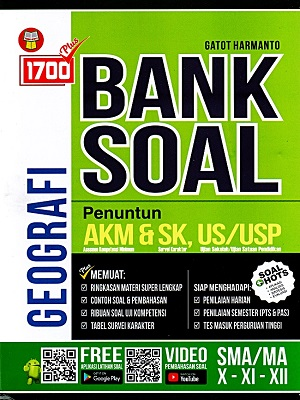 Sma/Ma Kls.X-Xi-Xii 1700 Plus Bank Soal Geografi