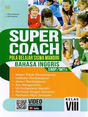 Smp/Mts Kl.Viii Super Coach Bahasa Inggris K/13 Rev