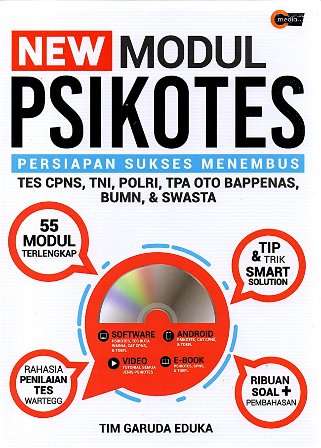 New Modul Psikotes (Plus Cd)