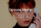 Expressing Intention
