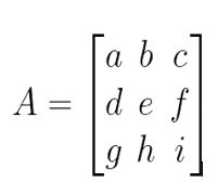 determinan 3x3