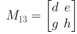 mencari kofaktor determinan