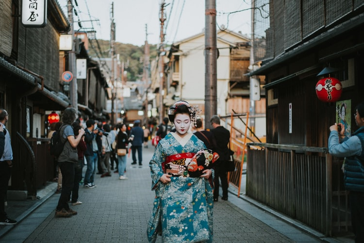 Ilustrasi Geisha