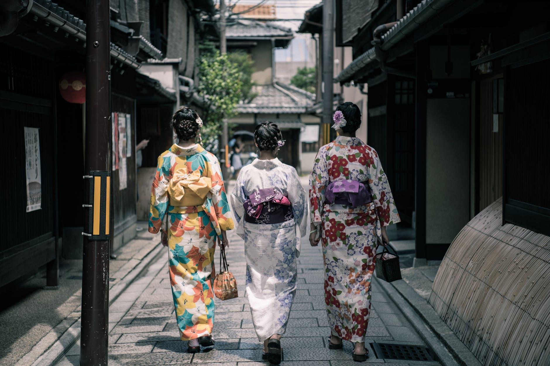 Ilustrasi Kimono