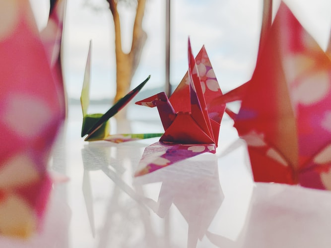 Ilustrasi Origami