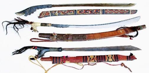 Ilustrasi Senjata Tradisional