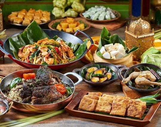 Ilustrasi Makanan Khas Nusantara (sumber: kabare)